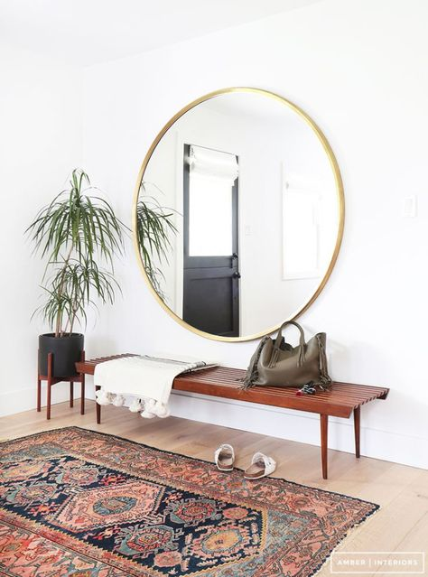Mirrors Open Up Es So They Are Definitely Needed For A Small London Flat With Skinny Its Best To Keep Bits On The Walls