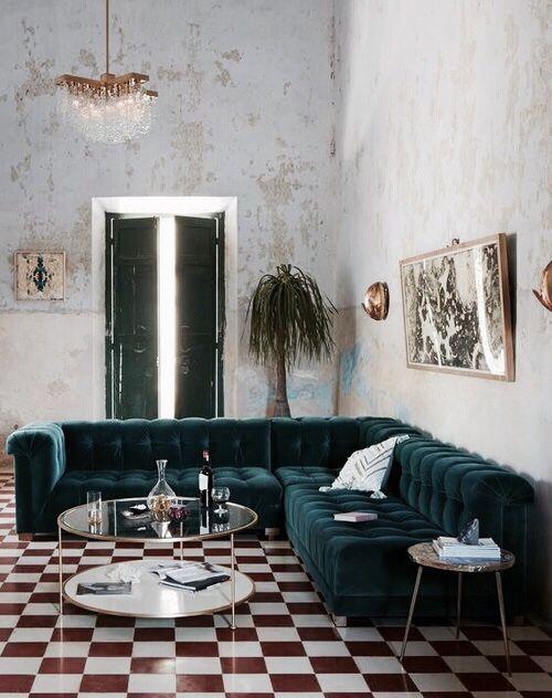 The velvet sofa monikh for Divani velluto moderno