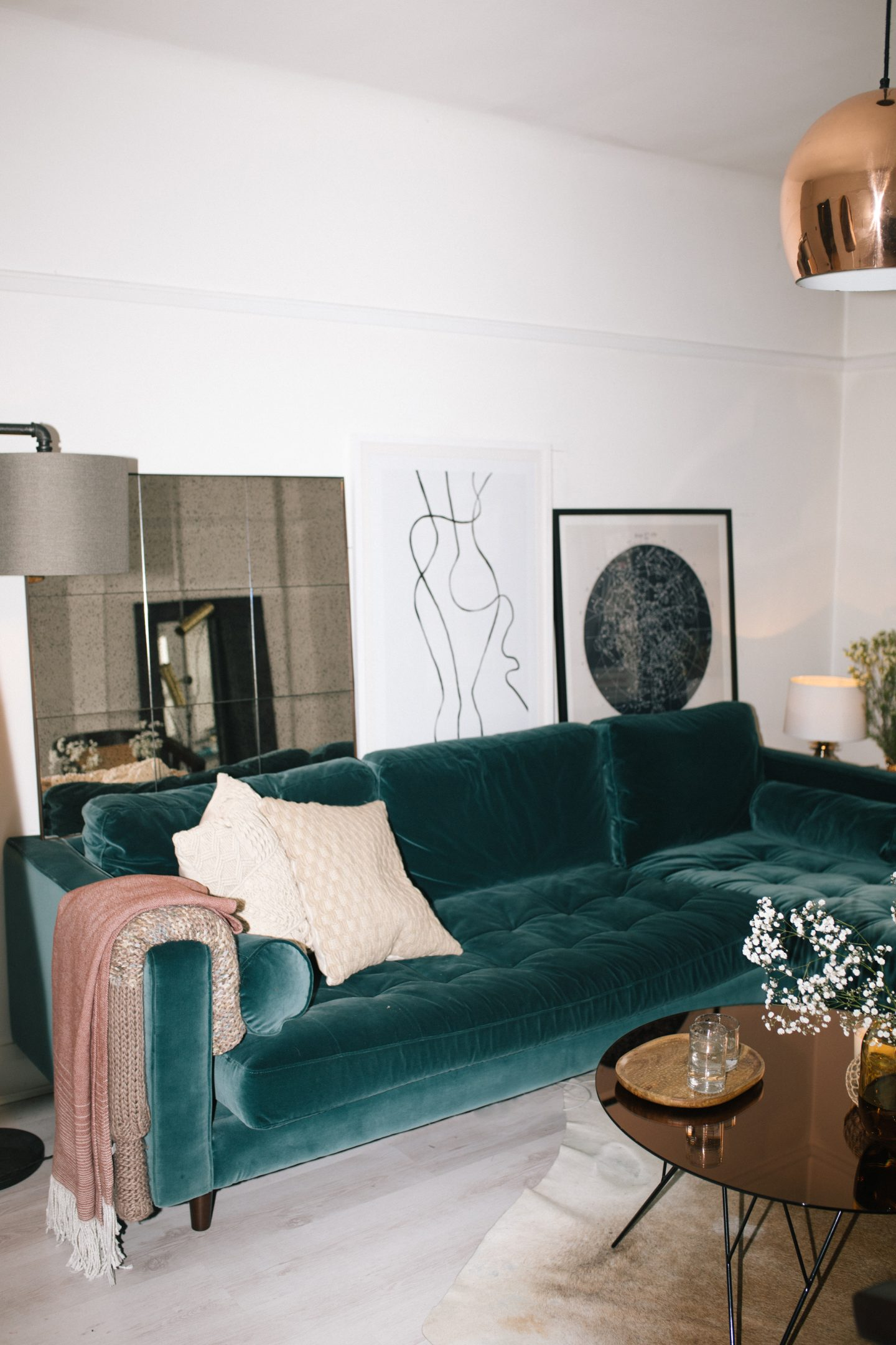 MY TOP 6 TIPS FOR FURNISHING A SMALL FLAT